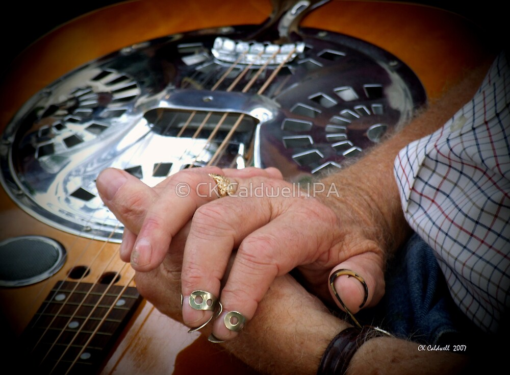 Waiting His Turn To Play by © CK Caldwell IPA