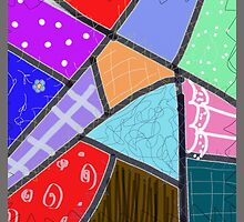 Crazy quilt, cheater  by ackelly4