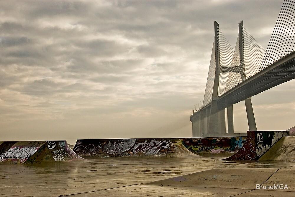 Urban Dusk by BrunoMGA