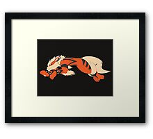 Cool Running Arcanine  Framed Print
