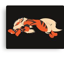 Cool Running Arcanine  Canvas Print