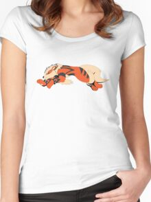 Cool Running Arcanine  Women's Fitted Scoop T-Shirt