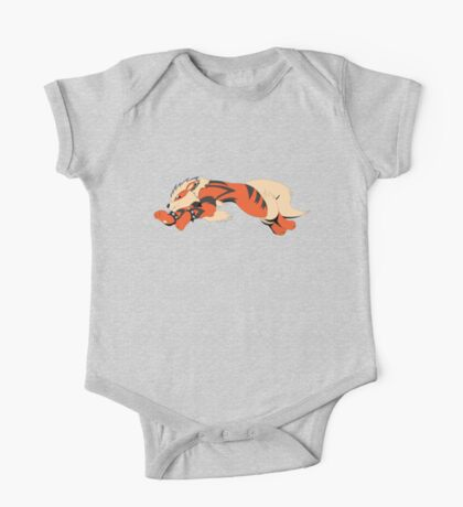 Cool Running Arcanine  One Piece - Short Sleeve