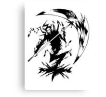 Soul Eater - Shinigami Canvas Print