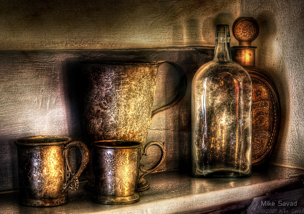 Implements  of Whisky by Mike  Savad