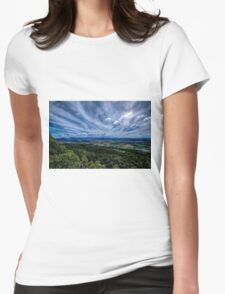Mt French View Womens Fitted T-Shirt