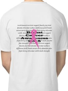 Breast Cancer Awareness 2015 Classic T-Shirt