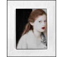 Pale Red  Photographic Print
