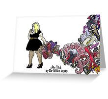 The Rogue Session - Miss Tink Greeting Card
