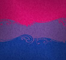 Bisexual Ornamental Flag by LiveLoudGraphic