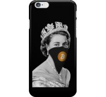 Queen Bitcoin Bandit Geek iPhone Case/Skin