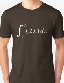 Calculus is fun! T-Shirt