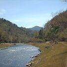 river mountain by merkinmerchant