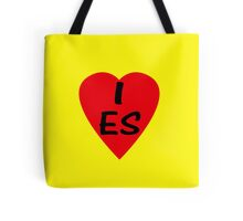 I Love Spain - Country Code ES T-Shirt & Sticker Tote Bag
