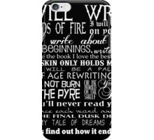 Words of Fire iPhone Case/Skin