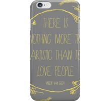 Truly Love People iPhone Case/Skin