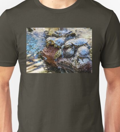 Turtles Image By Rich AMeN GIll Unisex T-Shirt