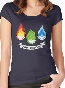 Pokemon - You Choose Women's Fitted Scoop T-Shirt