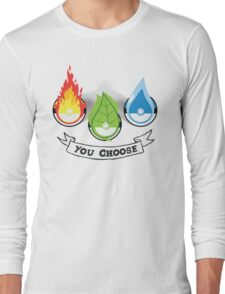 Pokemon - You Choose Long Sleeve T-Shirt