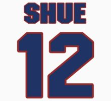 Basketball player Gene Shue jersey 12 by imsport