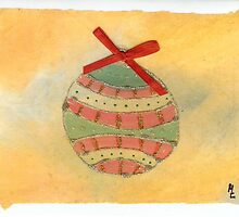 Christmas Ball Ornament  2 by Melinda Tarascio Lidke