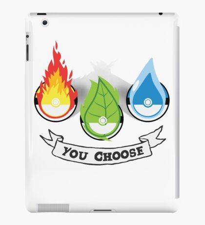 Pokemon - You Choose iPad Case/Skin