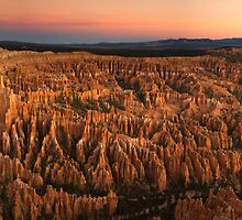 Bryce Twilight Panorama by Nick Johnson