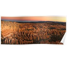 Bryce Twilight Panorama Poster