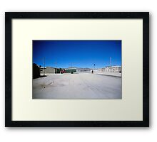 The Good, The Bad and Uyuni Framed Print