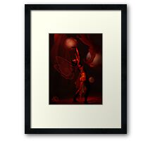 Under a dying star Framed Print
