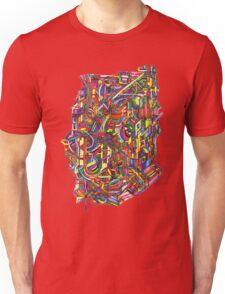color cluster Unisex T-Shirt