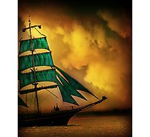 Emerald Sails Photographic Print