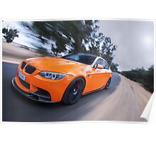 BMW E92 M3 Poster