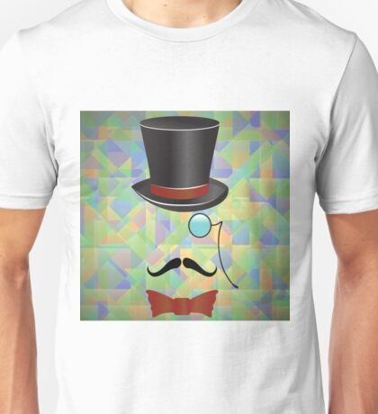 Mustaches and retro accessories Unisex T-Shirt