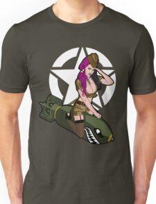 Army Punk Pin Up Unisex T-Shirt