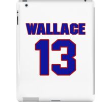 Basketball player Red Wallace jersey 13 iPad Case/Skin