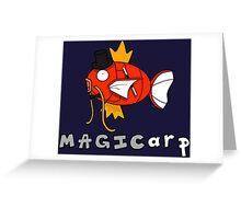 Magikarp the magician Greeting Card