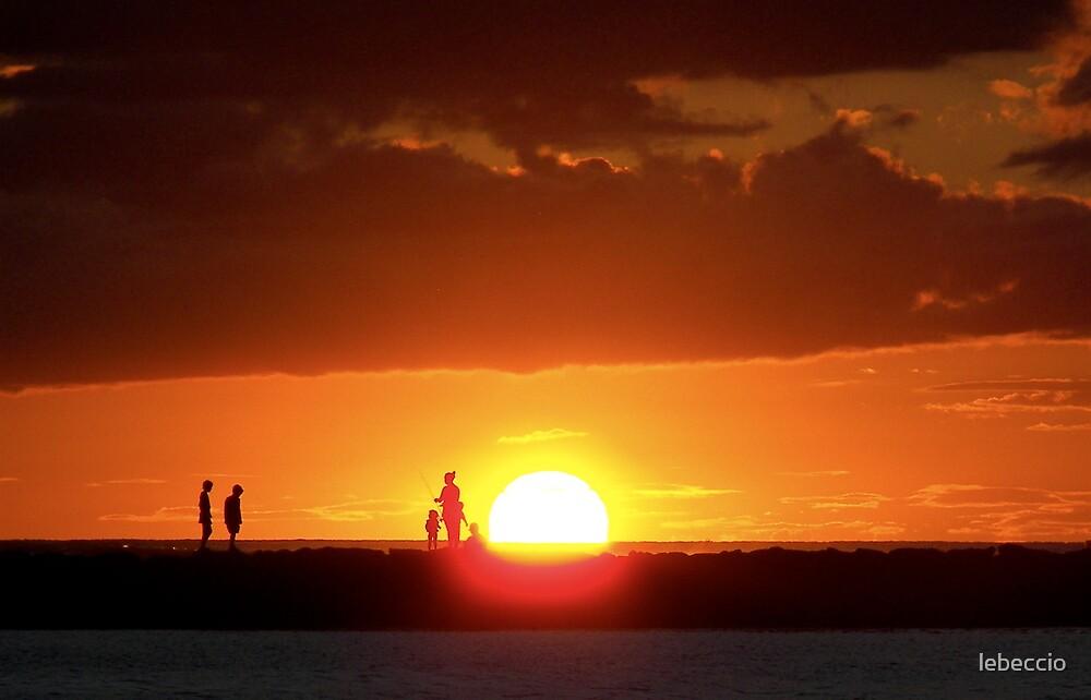 Sunset Oahu,Hawaii by lebeccio