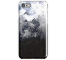 the mountain in two season (2) iPhone Case/Skin