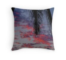 North Shore of Oahu, Hawaii Throw Pillow