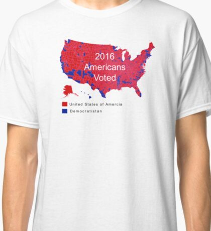 The Map Democrats Don't Want You To See Classic T-Shirt