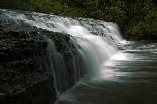 Falling water by Will Pursell