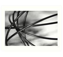 whisk 1 Art Print