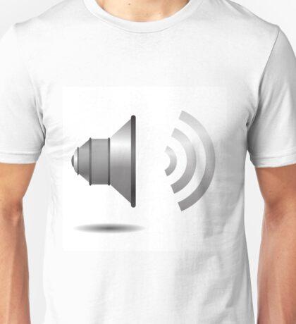 speaker icon Unisex T-Shirt