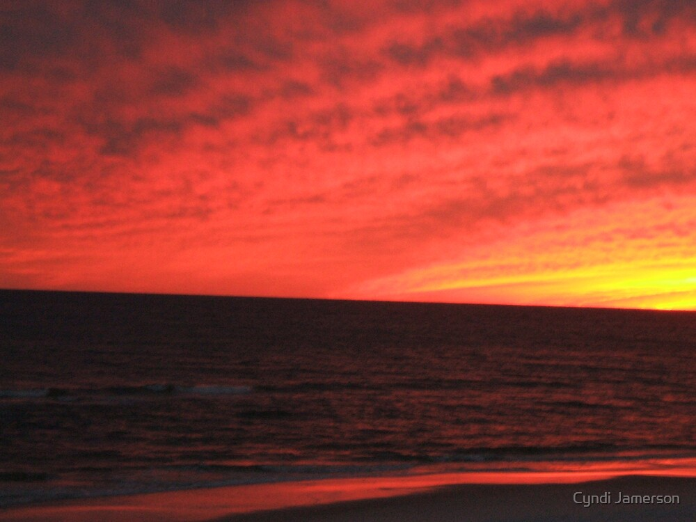 SKY ON FIRE by Cyndi Jamerson