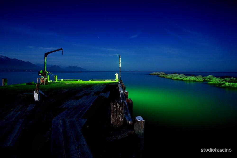 midnight wharf by studiofascino
