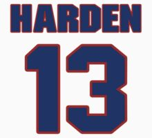 Basketball player James Harden jersey 13 by imsport