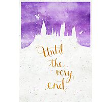 """Harry Potter """"Until the very end"""" Photographic Print"""