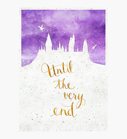 Until the very end Photographic Print