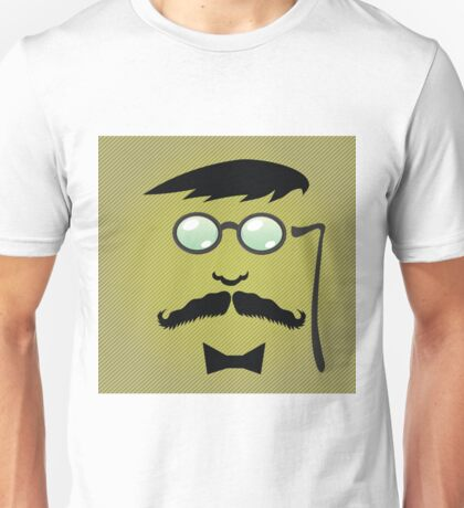 mustaches and accessories Unisex T-Shirt